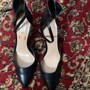 Black Guess shoes